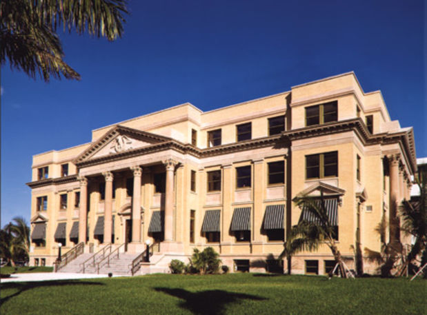 Palm beach county courthouse wedding