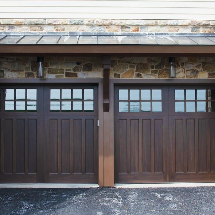 Vintage Millwork & Restoration VMR-1810-TB Garage Door