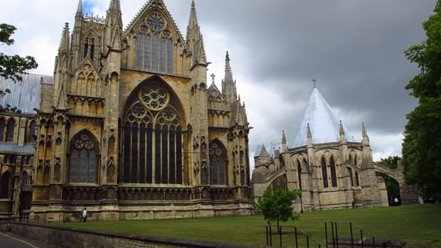 A view of Lincoln Cathedral, now over 1,000 years old and a wonderful part of England's Heritage.