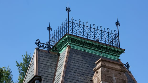 allen architectural metals at Green-wood Cemetery