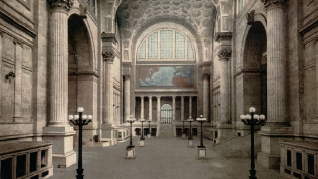 Original Penn Station Main Waiting Room