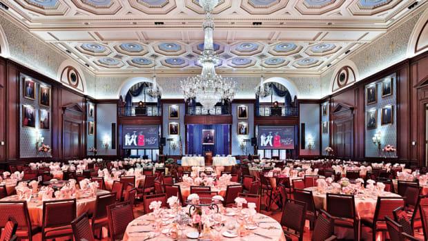 Lincoln Ballroom restoration