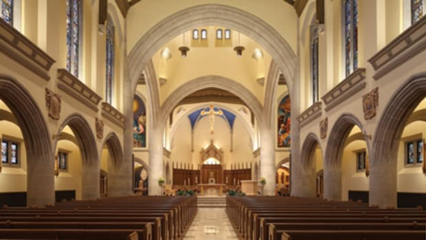 restoring the traditional interior of the Cathedral of the Blessed Sacrament