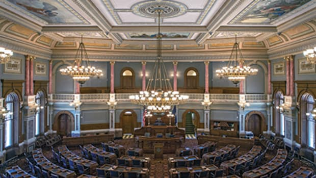 restoration of the Kansas Statehouse