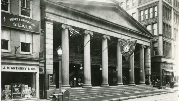 Jones Stores, Providence Arcade