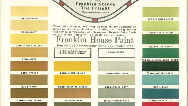 Franklin Barn Paint