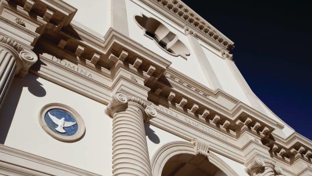 Chapel exterior details