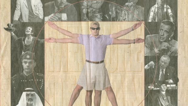 4. Vitruvian man parody