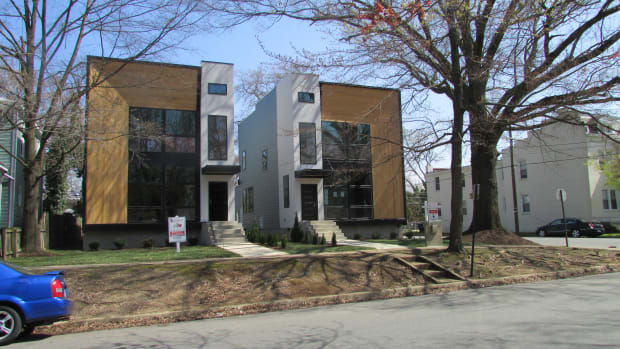 10.  New Town Houses. Steven Biegel%2c AIA
