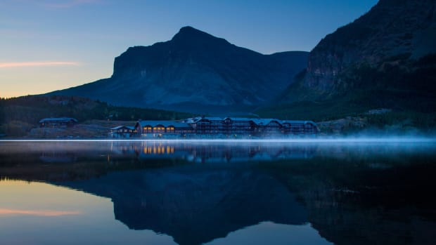 Many Glacier Hotel, Anderson Hallas Architects