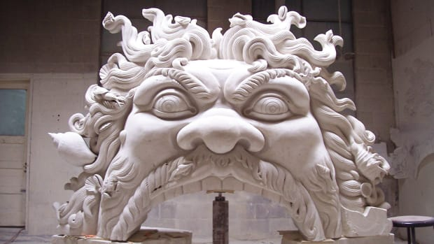 hand carved stone mantel Fairplay Stone carvers
