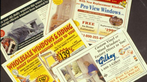 window mailers