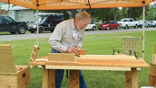Ted Ingraham, woodworker