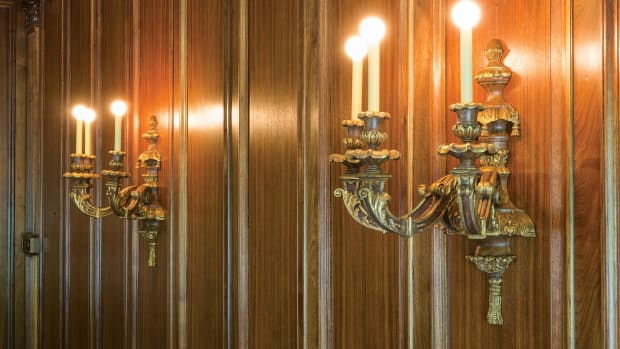 replicated wall sconces