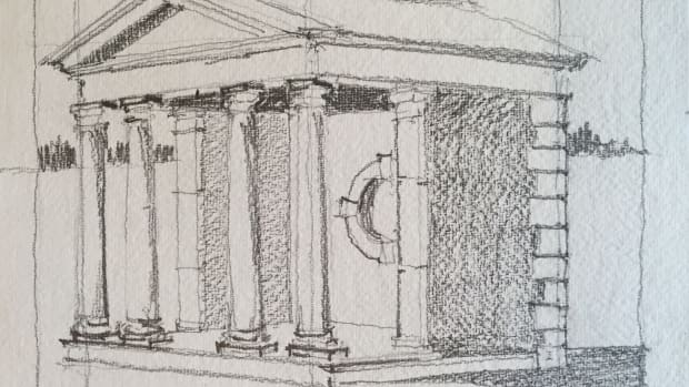 Folly perspective drawing