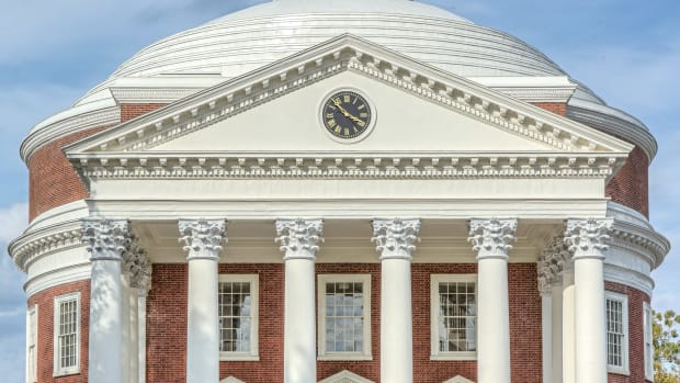 University of Virginia south portico