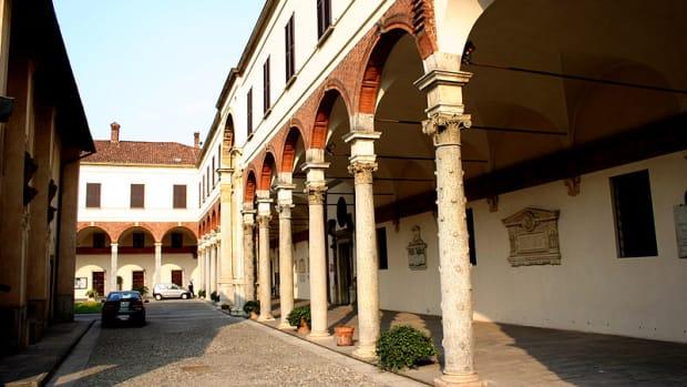 Bramante, Canonico, S Ambrogio, Milan