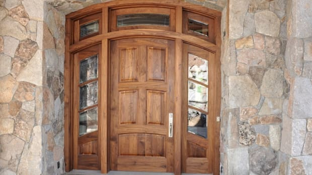 Appwood custom door
