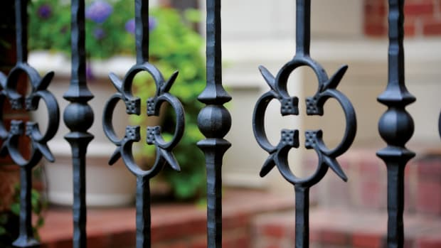 decorative metal fencing