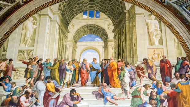 The School of Athens, Renaissance fresco