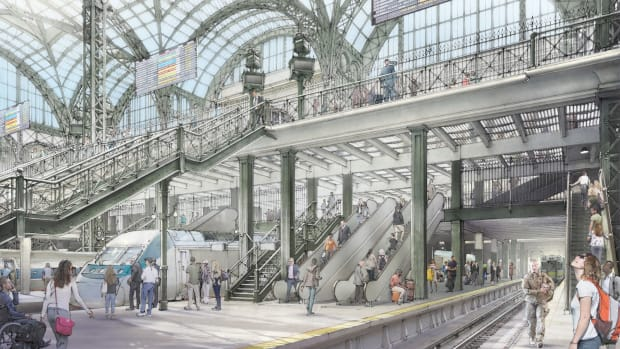 Rendering Penn Station