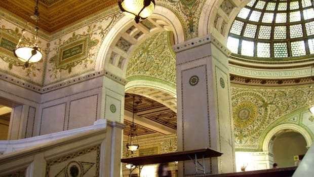 Tiffany and Co., Chicago Public Library, 1893