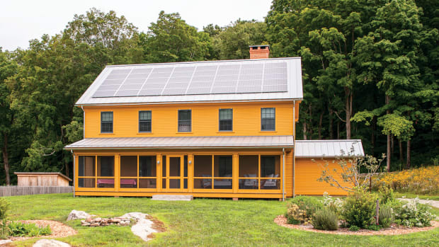 net zero farmhouse