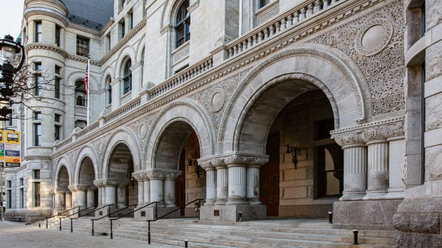 Milwaukee Federal Building facade