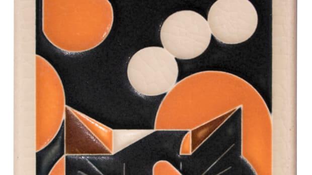 Calico Cat Tile