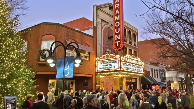 Movie theater, Rapp and Rapp, Charlottesville, Virginia,