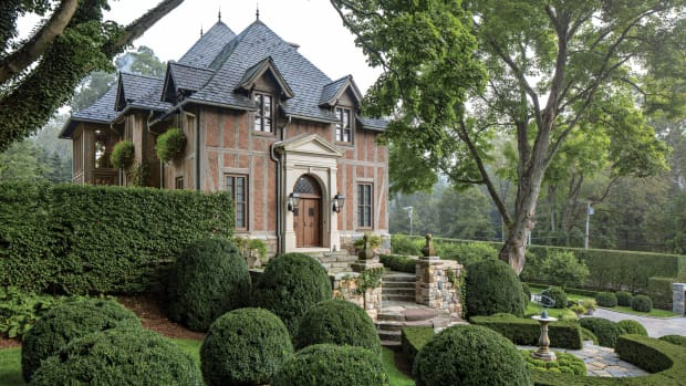 Charles Hilton Architects, New Normandy Manor House