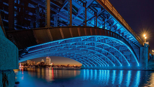 Longfellow Bridge, 2021 Palladio Award winner, Rosales + Parnters