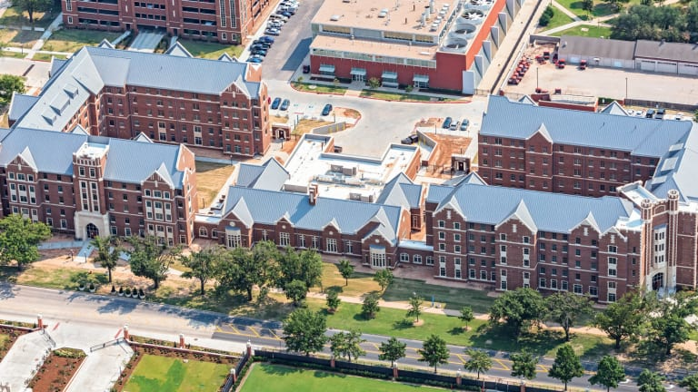 New Residential Colleges at University of Oklahoma by KWK Architects