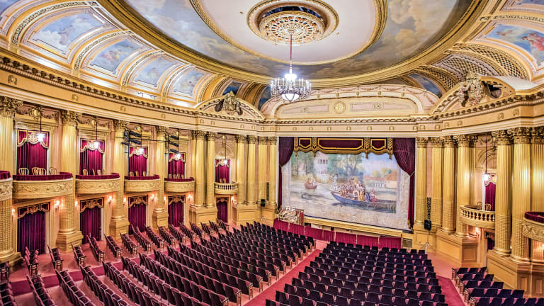 The Restoration of Al. Ringling Theatre By Isthmus Architecture