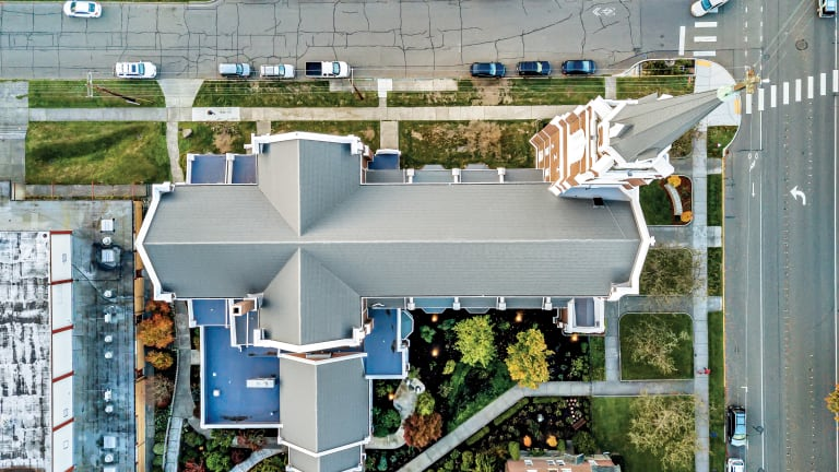 CertainTeed Replaces Church Roof