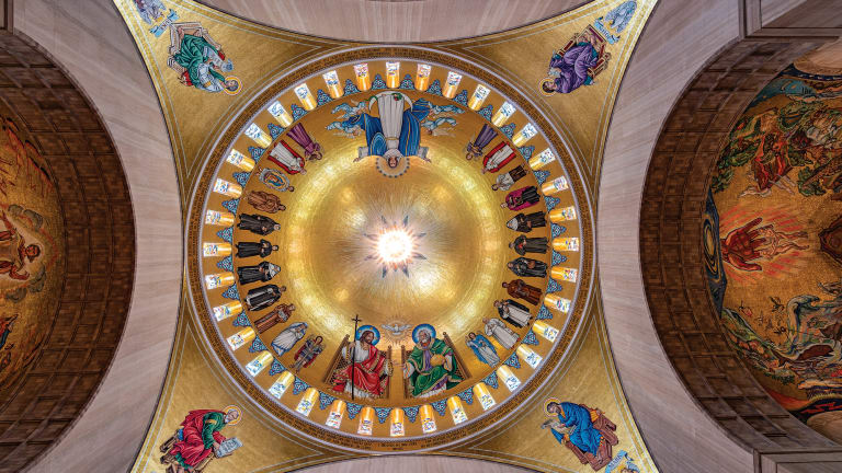 Trinity Dome Created by Rambusch Decorating Co.