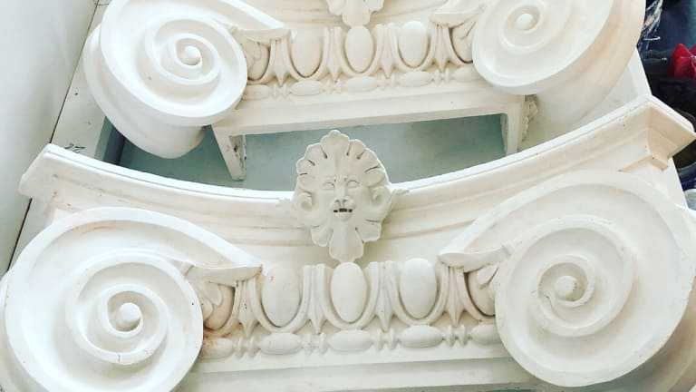 Exterior: Plaster Mouldings & Ornament