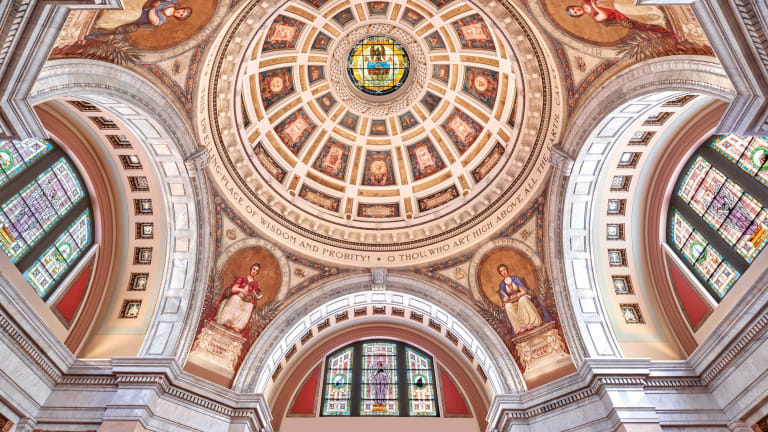 John Canning & Co.'s Art Conservation at Luzerne County Courthouse