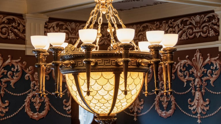 Historic Lighting Restoration Brightens Wyoming Capitol