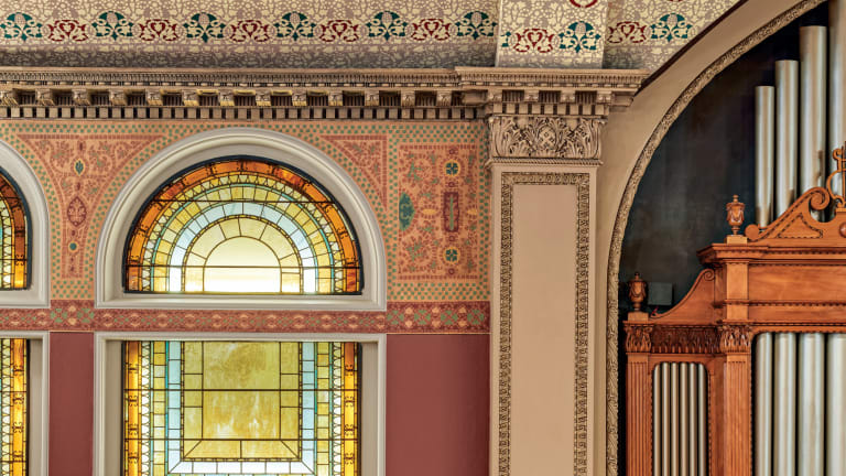 Preserving Decorative Finishes