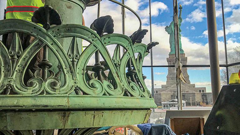 Relamping Lady Liberty