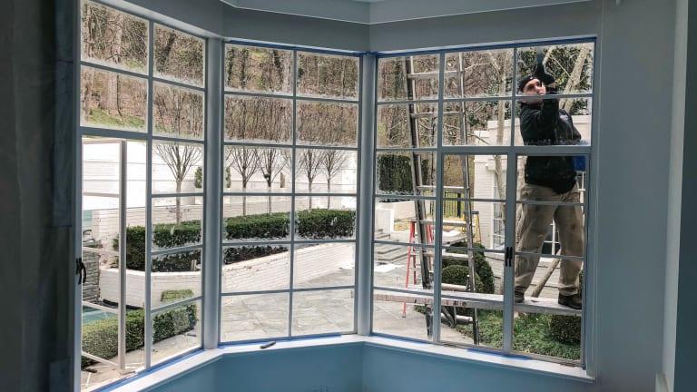 Restoration of Steel Window Frames and Hardware