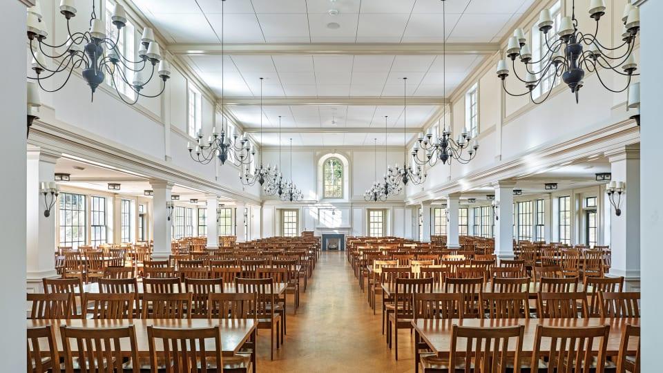 A New Dining Hall at Millbrook School by Voith & Mactavish Architects