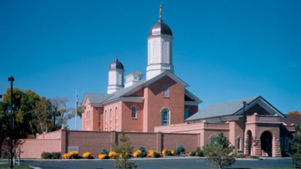 Vernal Utah Temple restoration by FFKR Architects
