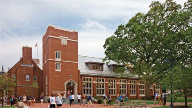 Howard Dutton Taft Dining Hall at the Taft School
