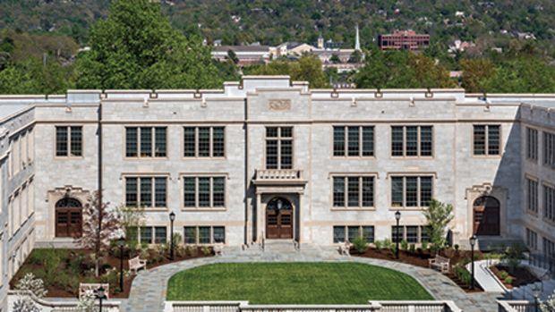 Ozark Hall at University of Arkansas by Robert A.M. Stern Architects