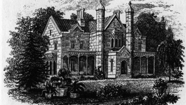 A.J. Downing's residence