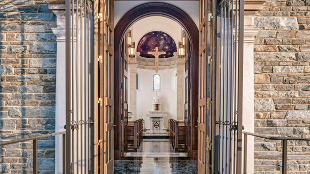 entrance of Mary's Chapel