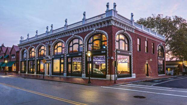 Newport Audrain Building