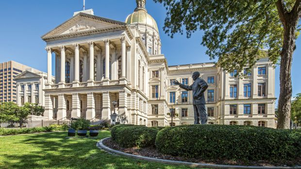 restored Georgia State Capitol